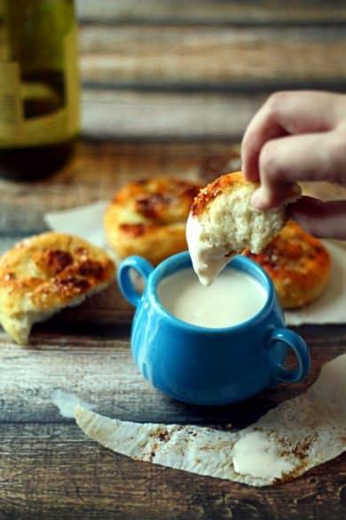 Quick crockpot fondue