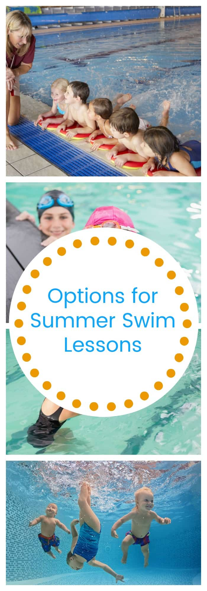 Options for Summer Swim Lessons