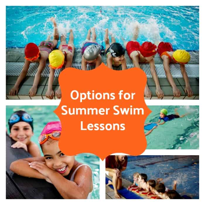 Options for Summer Swim Lesssons