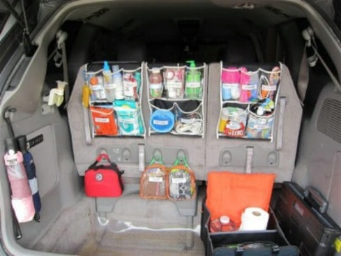 car trunk organization