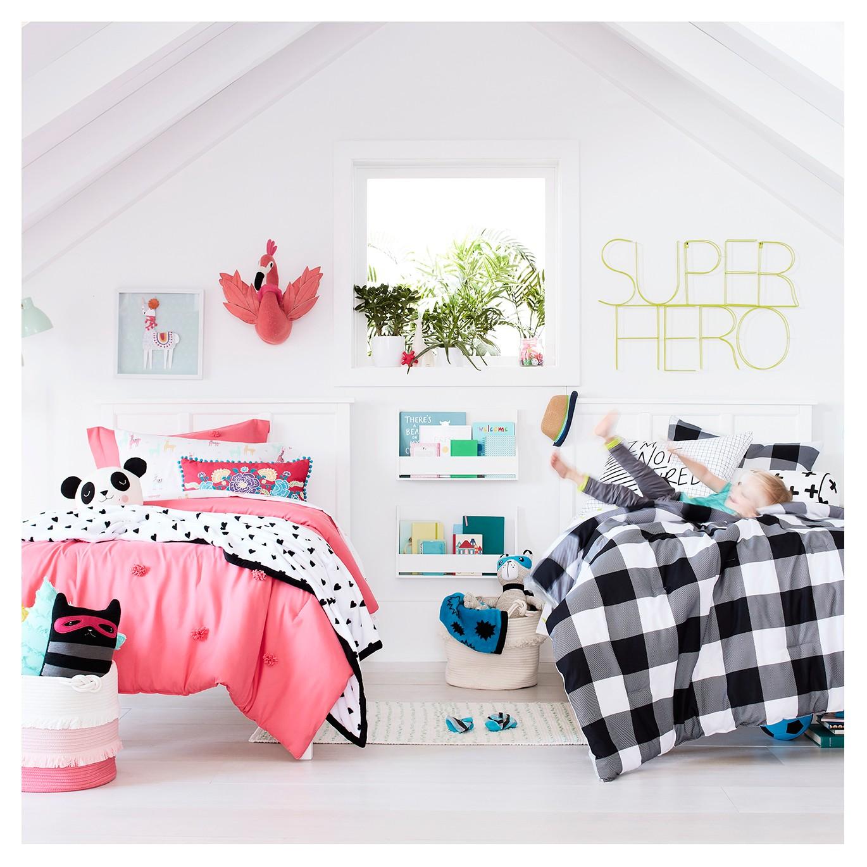 boy girl shared bedroom