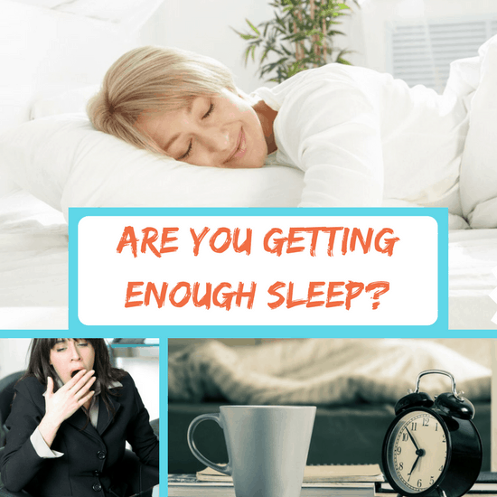 getting enough sleep