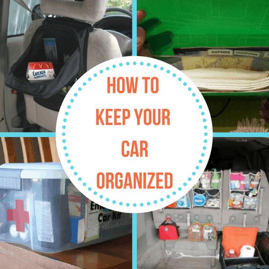 car organized
