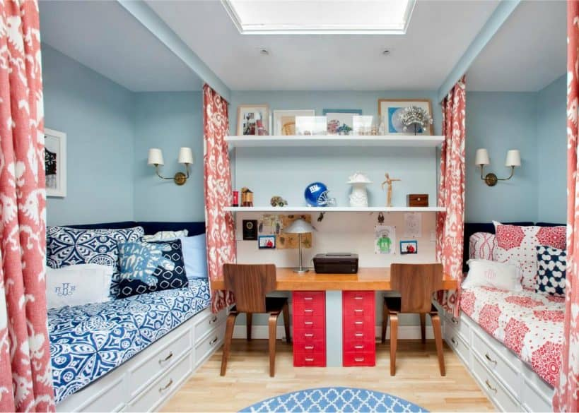 beds with built in drawers
