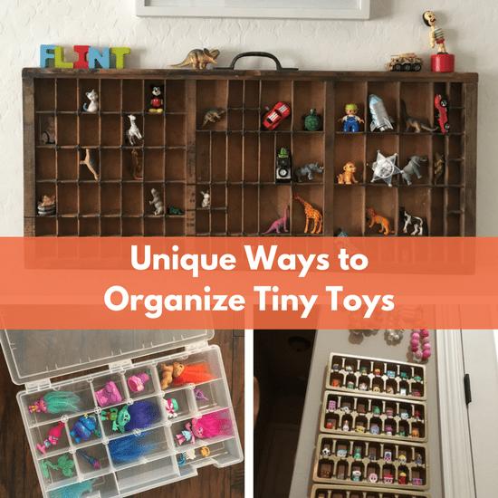 ways to organize tiny toys