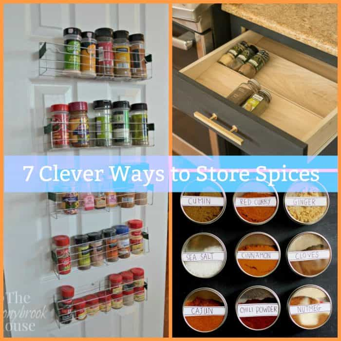 store spices