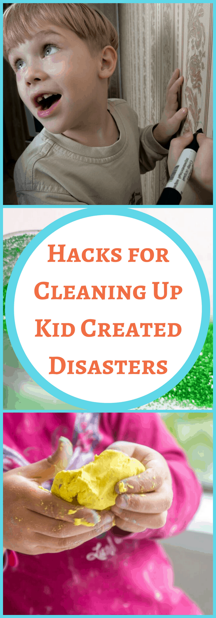 hacks for cleaning kid messes