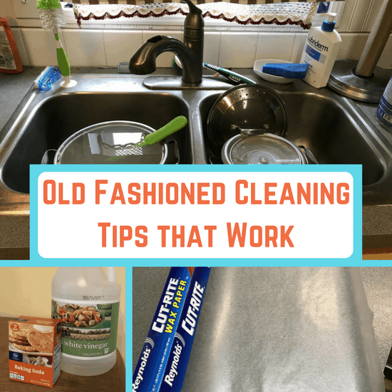 Old Fashioned Cleaning Tips