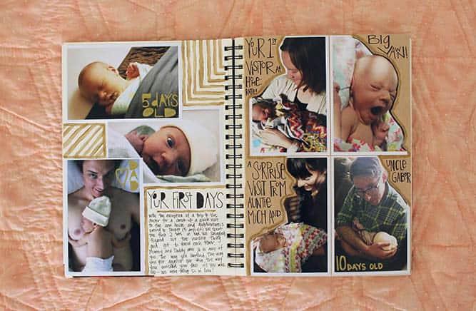 baby book idea
