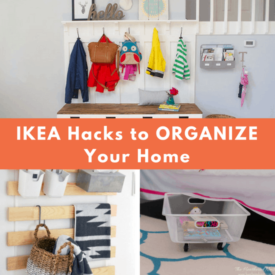 9 IKEA Hacks To Organize Your Home