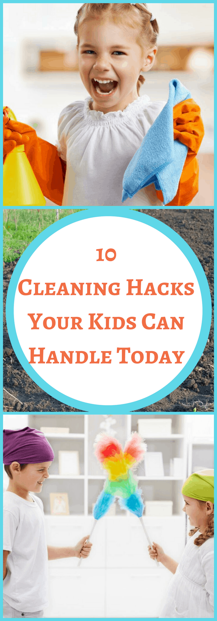 Kids Cleaning Hacks