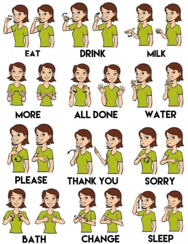 Sign Language For Kids  kidCoursescom