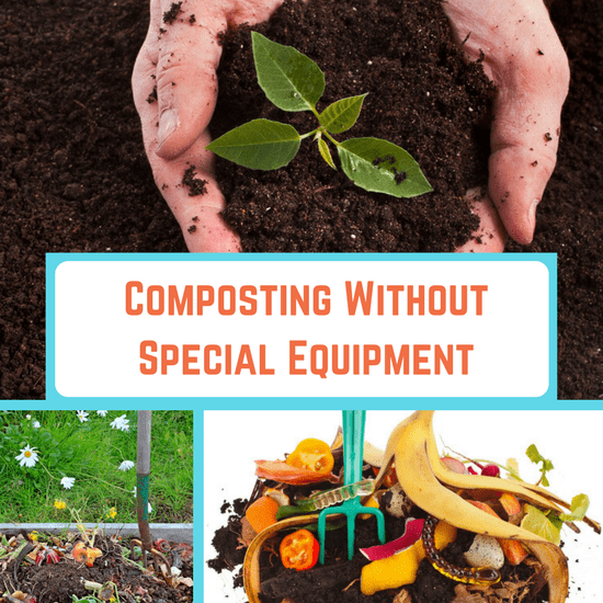 composting without special equipment