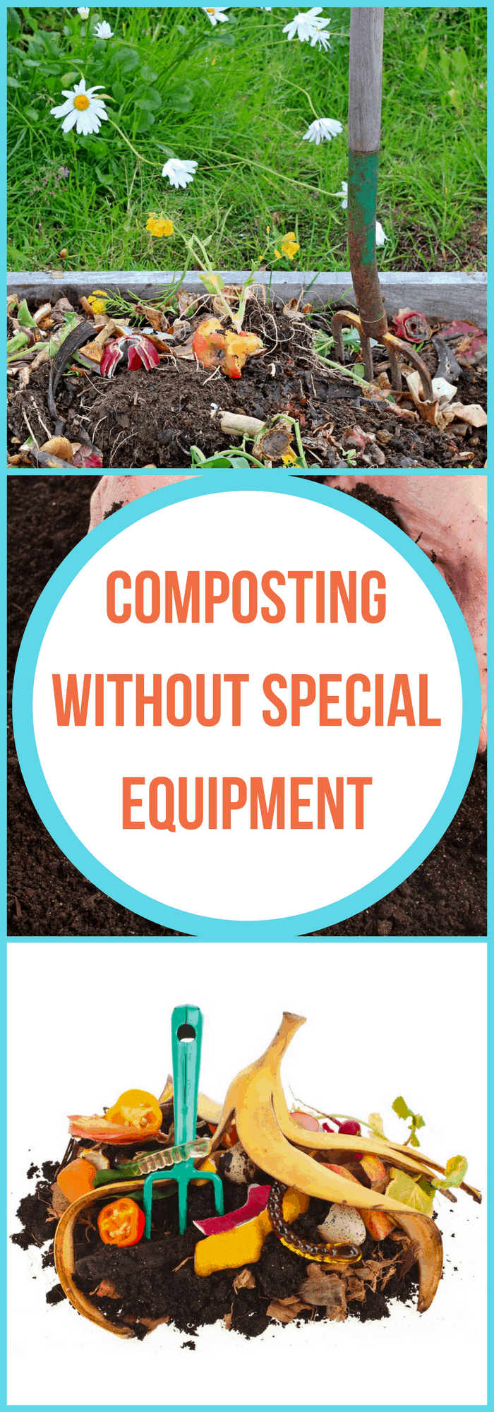 composting without special equipment the organized mom