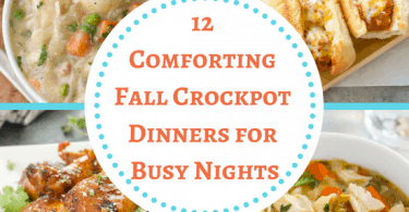 Fall Crockpot Dinners