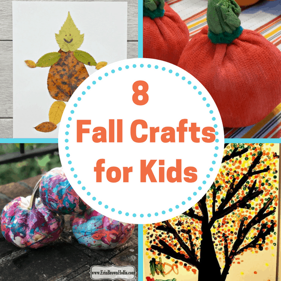 8 Fall Crafts For Kids The Organized Mom