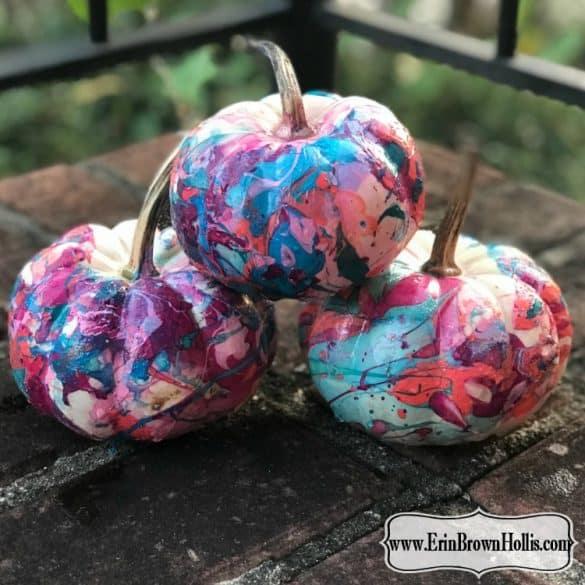 marble pumpkins