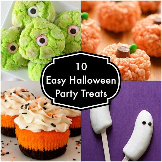10 easy halloween party treats the organized mom