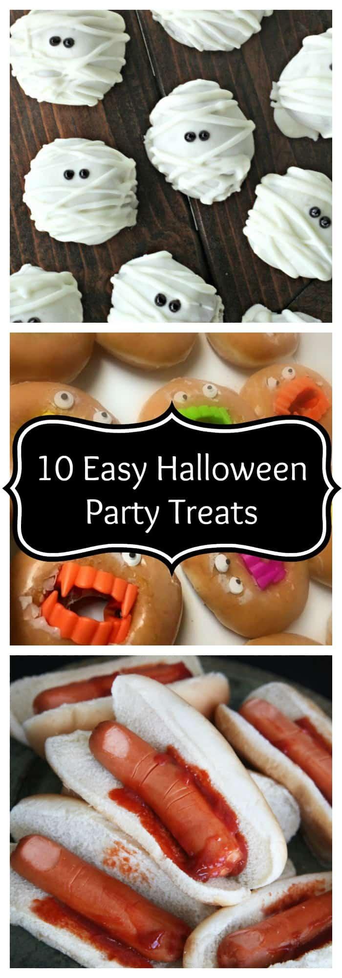 halloween 10 easy halloween party treats the organized mom