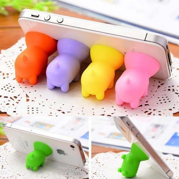 pig cellphone stand