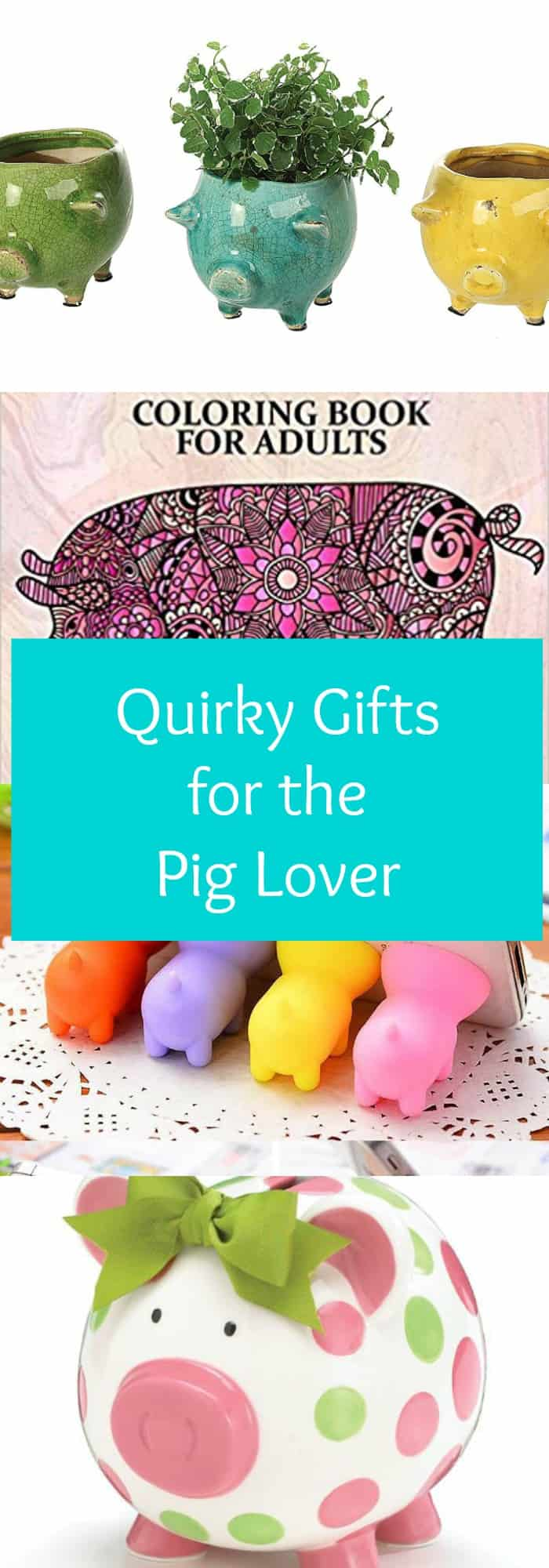 Home - Quirky gift ideas for the pig lover in your life - The Organized Mom