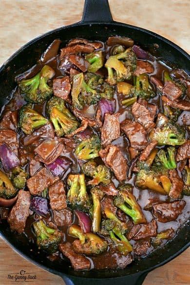 cast iron skillet dinner