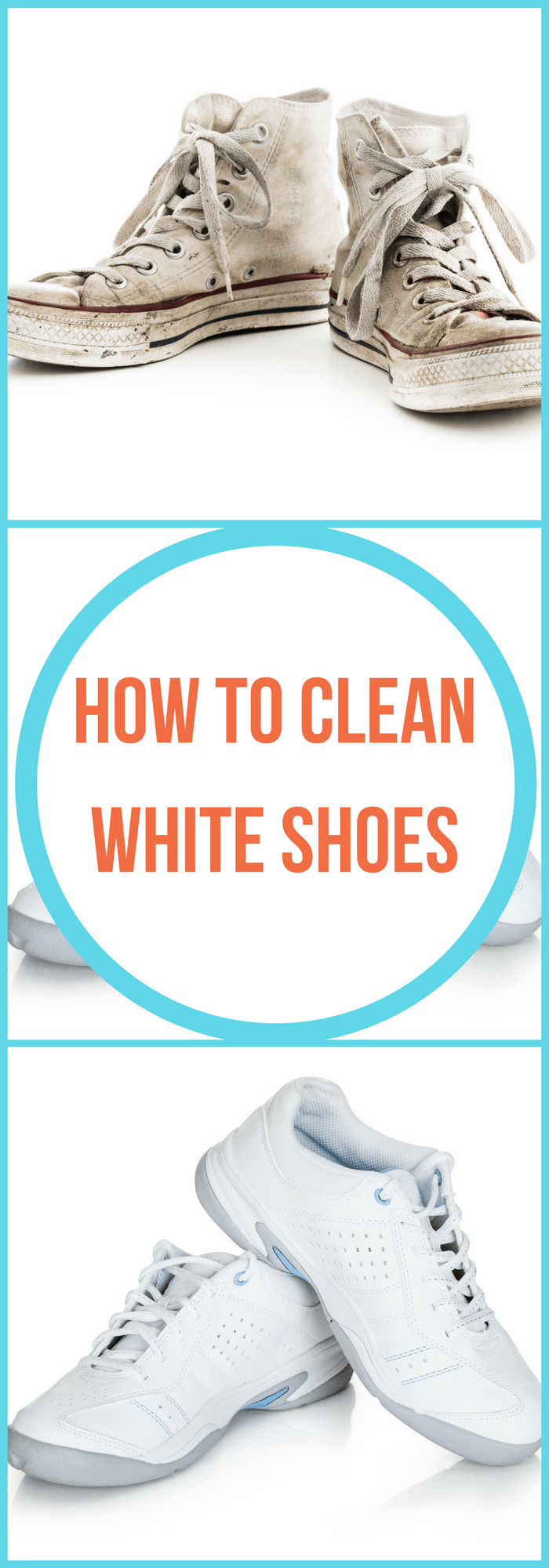 Laundry--How to Clean White Shoes