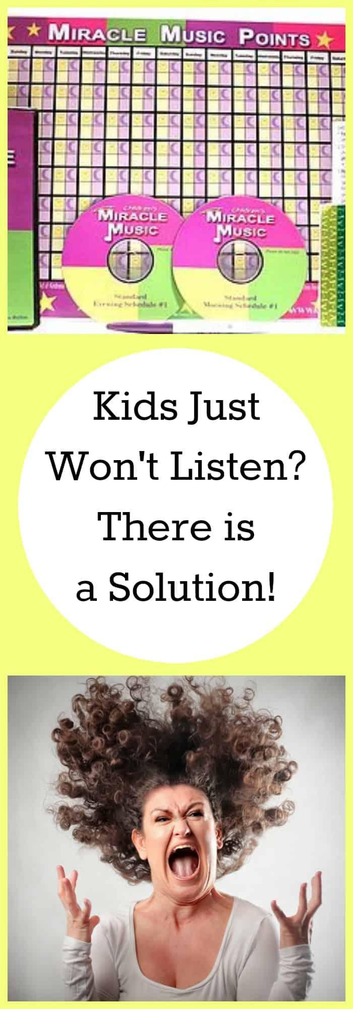 Parenting-Kids Just Won't Listen?-The Organized Mom