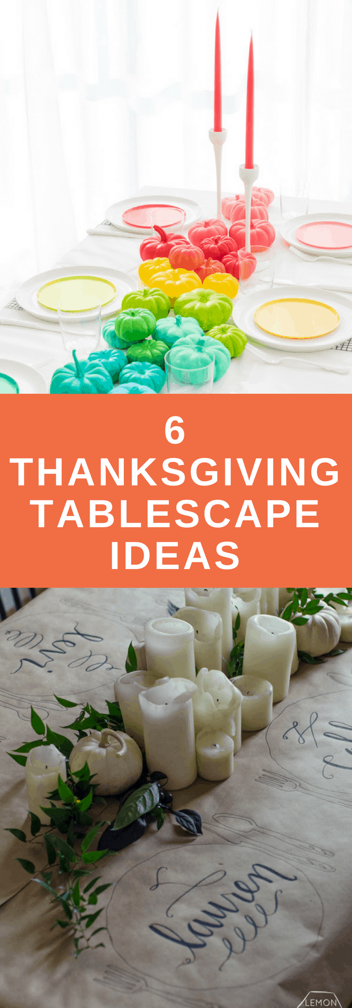 Holidays-Thanksgiving Tablescape Ideas-The Organized Mom