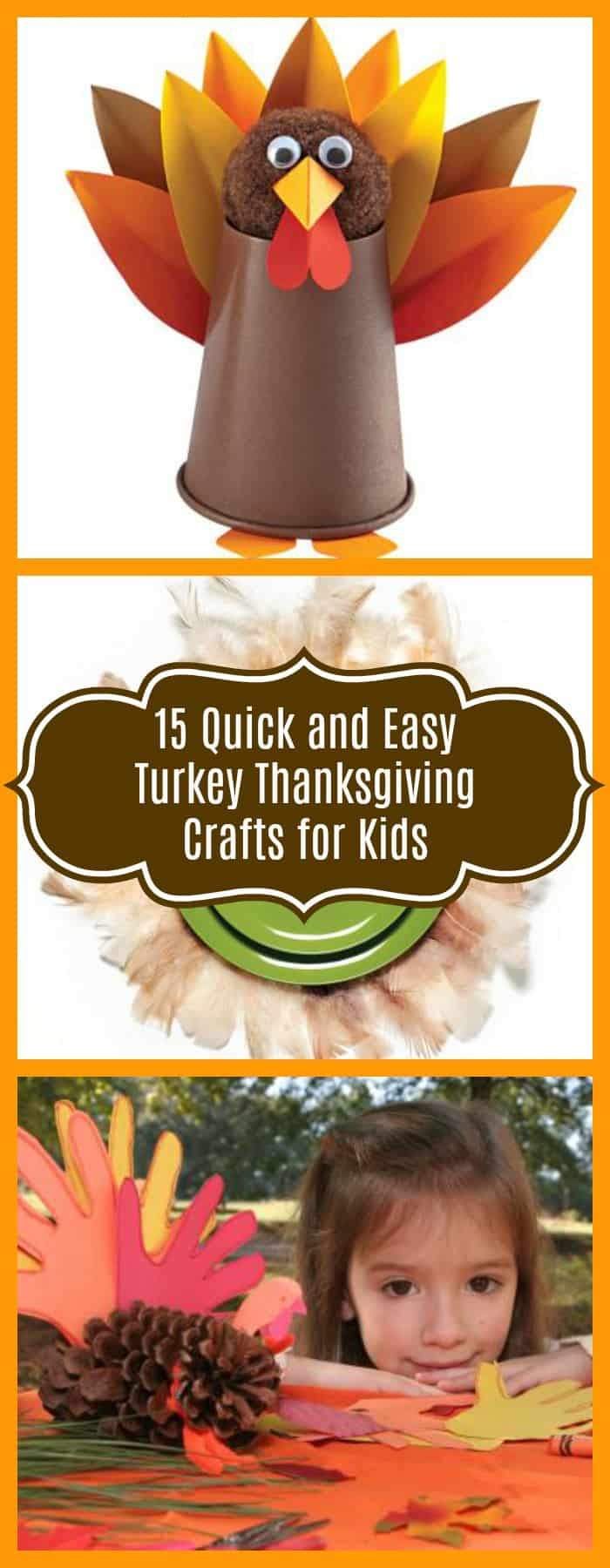 15 Easy Natural Make Up Tutorials 2014 For Beginners: 15 Quick And Easy Turkey Thanksgiving Crafts To Do With