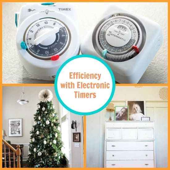 efficiency with electronic timers
