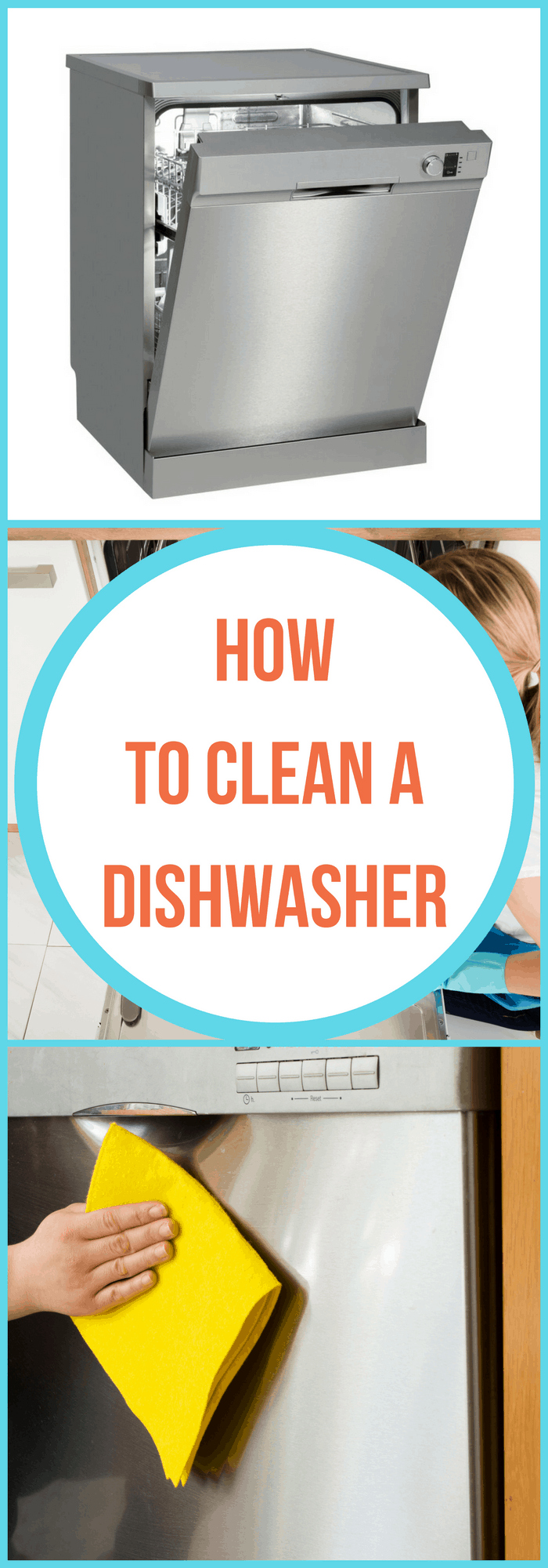 How To Clean A Dishwasher The Organized Mom