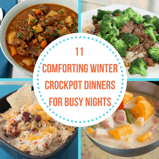 winter crockpot dinners
