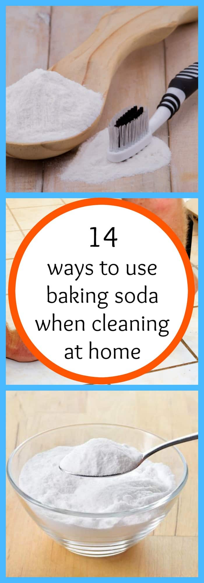 14 ways to use baking soda when cleaning at home - Things never clean baking soda ...