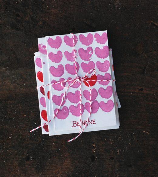 celery heart valentine