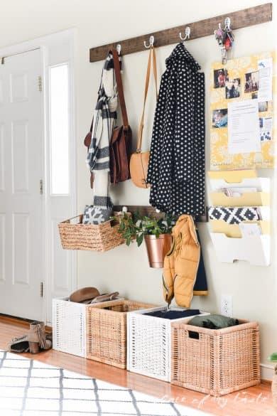 organized entryway