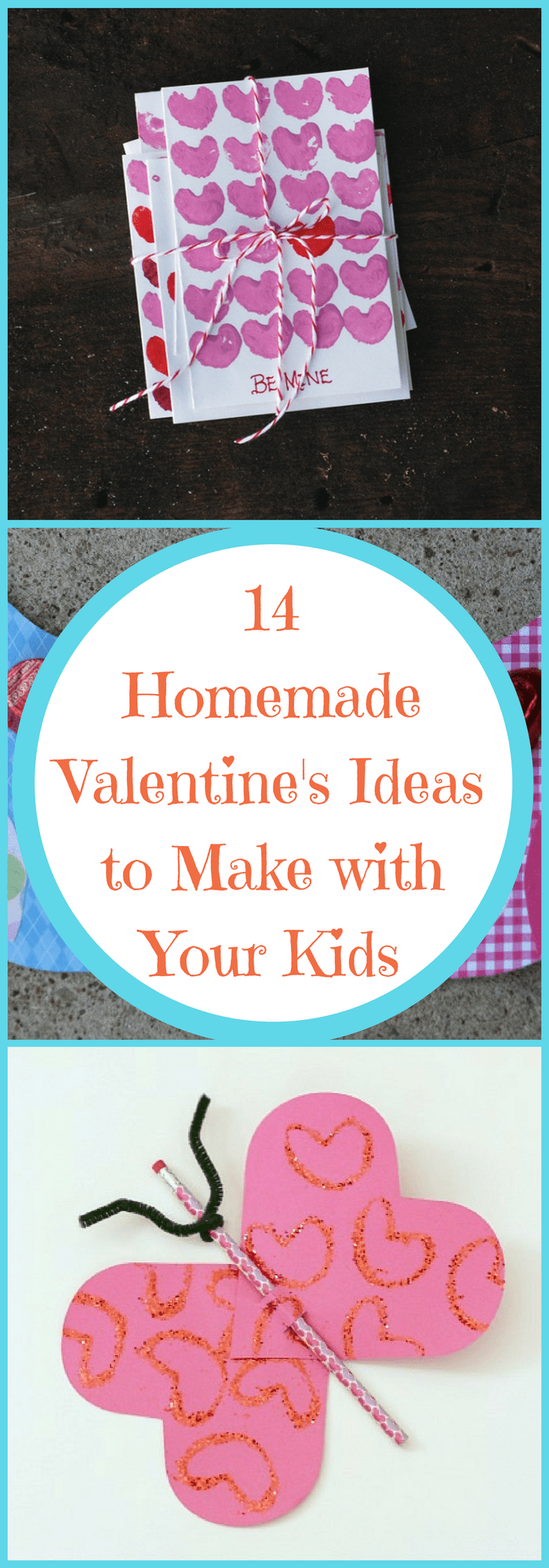 Crafts--14 Homemade Valentine's Ideas to Make with Your Kids--The Organized Mom