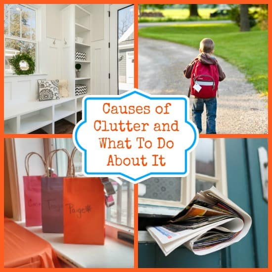 Causes of clutter
