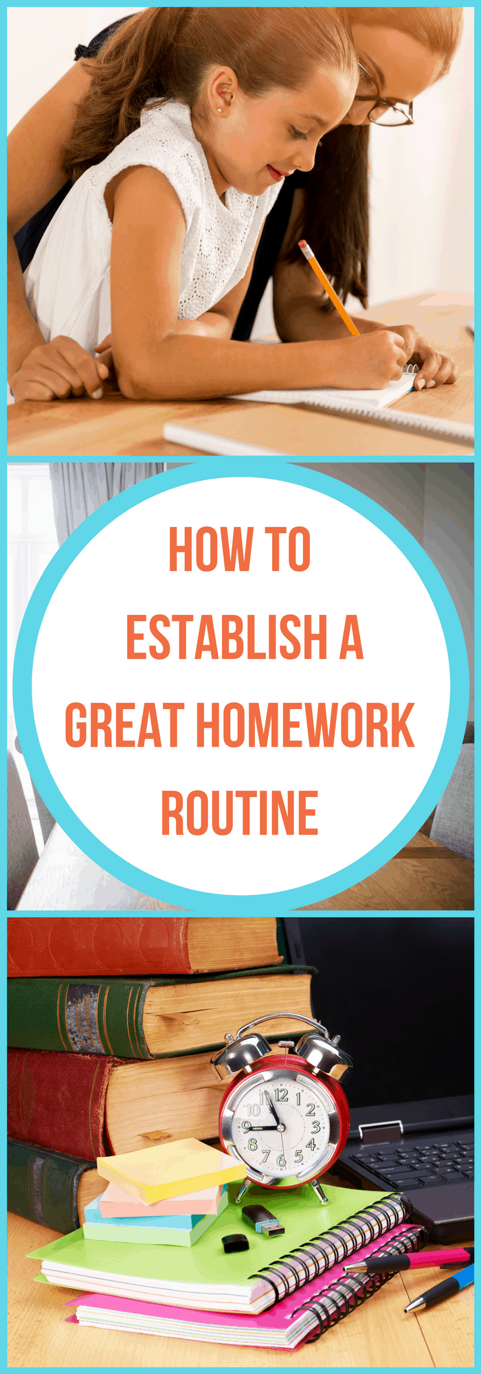 Parenting--How to Establish a Great Homework Routine--The Organized Mom
