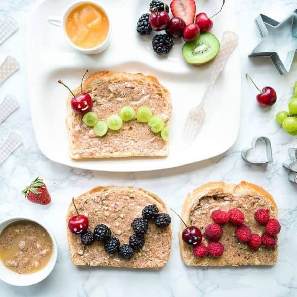 caterpillar toast