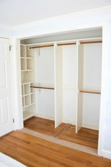 closet with no doors