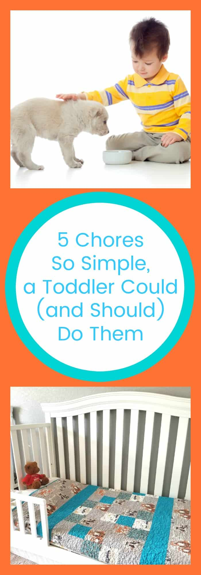 Kids--5 Chores So Simple, a Toddler Could (and Should) Do Them--The Organized Mom