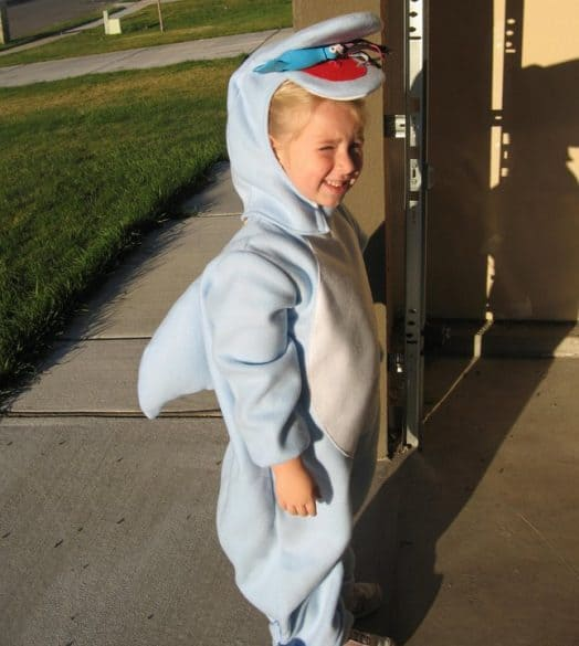 shark halloween costume