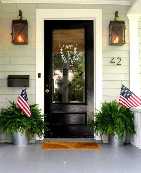 patriotic front door