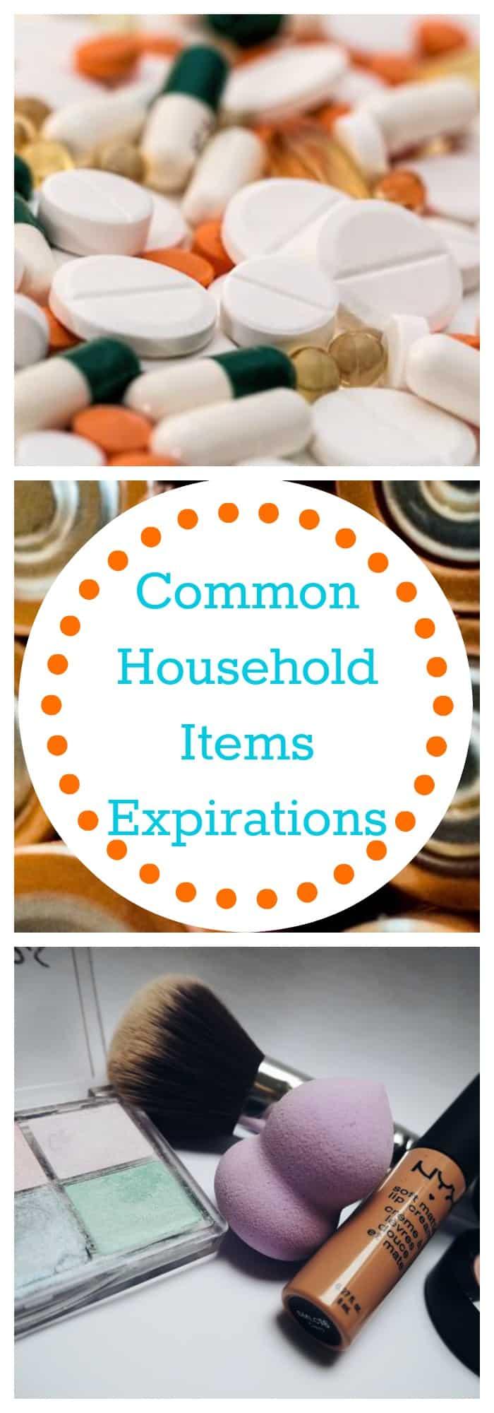 Organization--Common Household Items Expirations--The Organized Mom