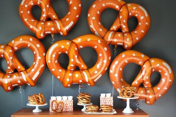 pretzel party