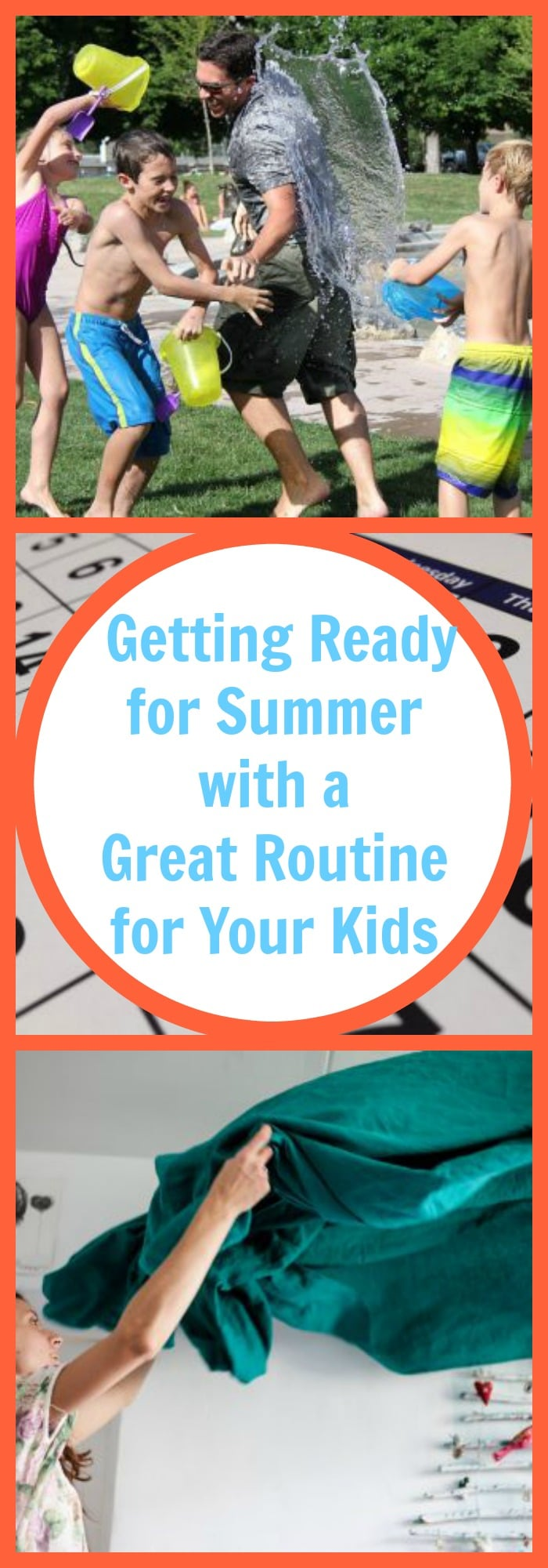 Parenting--Getting Ready for Summer with a Great Routine for Your Kids--The Organized Mom