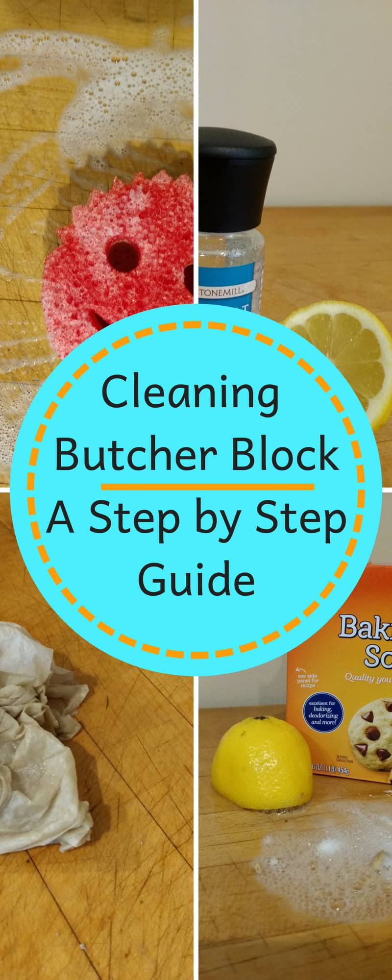 cleaning butcher block