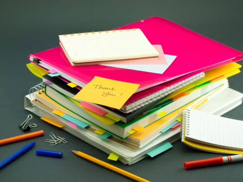 homework notebooks