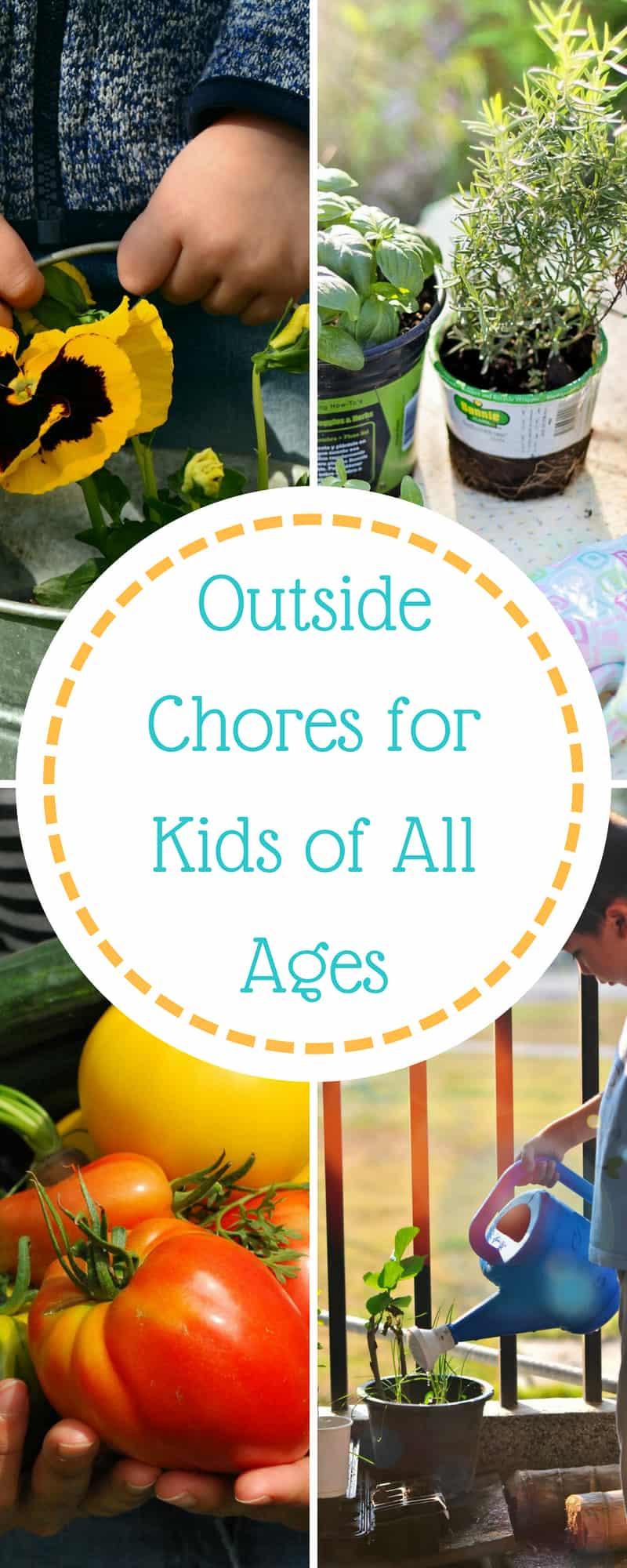 Outside Chores for Kids